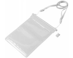 Vodotěsný obal pro mini tablet DOLPHIN - bílá / transparentní