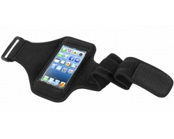 Neoprenový nastavitelný pažní pás pro iPhone PANNE - černá