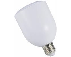 Plastová žárovka a bluetooth reproduktor DAZED s dálkovým ovládáním - bílá