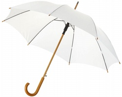 Automatický klasický deštník ULNA - bílá