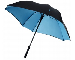 Automatický deštník čtvercového tvaru COOPT - černá / tmavě modrá
