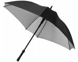 Automatický deštník čtvercového tvaru COOPT - stříbrná / černá