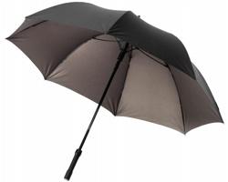 Automatický deštník TRUTH s LED svítilnou - bronzová černá