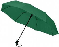 Trojdílný automatický deštník VARY - zelená