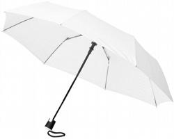Trojdílný automatický deštník VARY - bílá