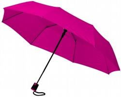 Trojdílný automatický deštník VARY - světle fialová