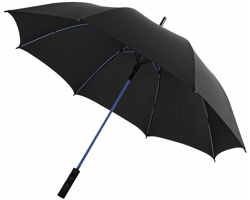 Automatický deštník GUSTS s kopím v zářivých barvách - černá / modrá
