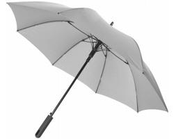 Automatický deštník Marksman MIRTH s měkkou rukojetí - šedá