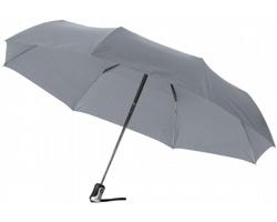 Deštník s automatickým otevíráním a skládáním MIRE - šedá