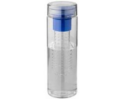 Recyklovatelná láhev na pití FRUITINO s infuzérem na ovoce, 740 ml - královská modrá