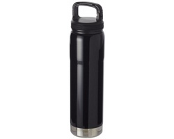 Nerezová vakuová láhev QUITE pro studené i teplé nápoje,  750 ml - černá