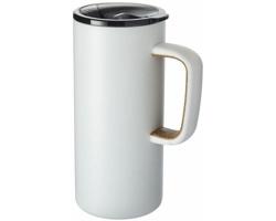 Nerezový vakuový termohrnek PION, 500 ml - bílá