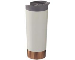 Nerezový termohrnek KROO, 500 ml - chromovaná