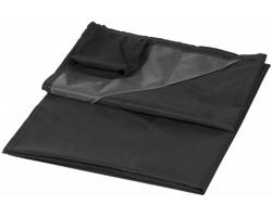 Venkovní pikniková deka FOODY s voděodolnou úpravou a pouzdrem - černá