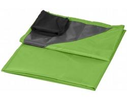Venkovní pikniková deka FOODY s voděodolnou úpravou a pouzdrem - jemně zelená