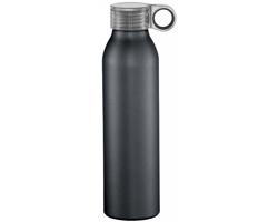 Hliníková sportovní láhev KORMA, 650 ml - černá