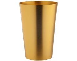 Měděný pivní pohár OLDBEER, 400 ml - zlatá