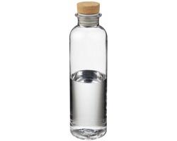Tritanová láhev na pití DARED s korkovým uzávěrem, 650 ml - transparentní čirá