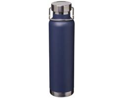 Kovová vakuová termolahev LOCUM - námořní modrá