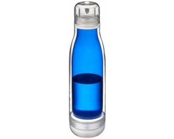 Tritanová sportovní láhev HADLOCK se sklem odolným proti zápachu, 500 ml - modrá