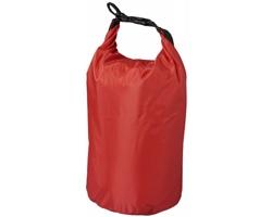 Polyesterová vodotěsná taška GRUDGING s přezkou - červená
