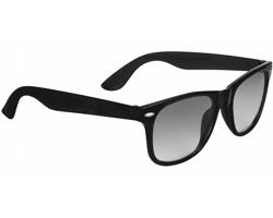 Barevné sluneční brýle WYND s křišťálovými skly - černá