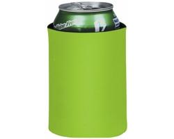 Skládací termoobal na nápoje TESTS - jemně zelená