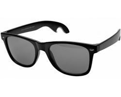 Retro sluneční brýle RAYMOND s otvírákem na pivo - černá