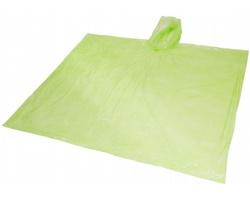 Pláštěnka s kapucí MARIACHI s pouzdrem - jemně zelená