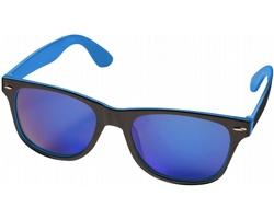 Sluneční brýle STOP s barevnými skly - černá / modrá