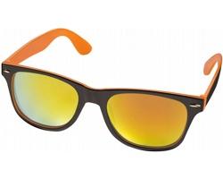 Sluneční brýle STOP s barevnými skly - oranžová / černá