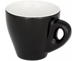 Keramický espresso hrnek LEES, 80 ml - černá
