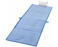 Skládací plážová taška CHAT, 3v1 - královská modrá