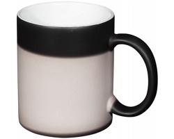 Keramický sublimační termohrnek KHANS , 330 ml - černá