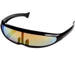 Sluneční brýle VISOR se zrcadlovými skly - černá