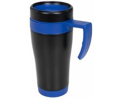 Kovový termohrnek URAMIL, 400 ml - modrá