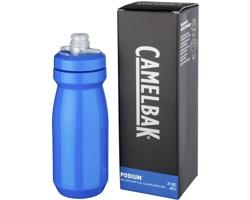 Plastová značková sportovní lahev SHACK, 620 ml - královská modrá