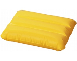 Nafukovací polštář IDES s ventilkem s pojistkou - žlutá