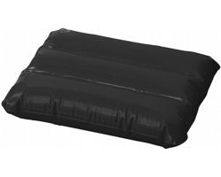 Nafukovací polštář IDES s ventilkem s pojistkou - černá
