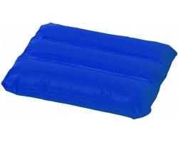 Nafukovací polštář IDES s ventilkem s pojistkou - modrá