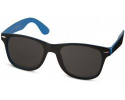 Plastové sluneční brýle NGAIO v retro stylu - modrá / černá