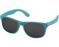 Plastové retro sluneční brýle PRIVATES s černými skly - modrá