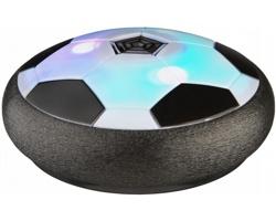 Plastový fotbalový míč WHEAL do interiéru i exteriéru - černá / bílá