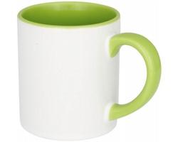 Keramický hrnek YLEM s úpravou pro sublimační potisk, 250 ml - jemně zelená
