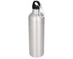 Nerezová termoska CRAPS s karabinou, 530 ml - stříbrná