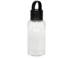 Tritanová sportovní láhev FLOW se svítícím víčkem, 590 ml - černá