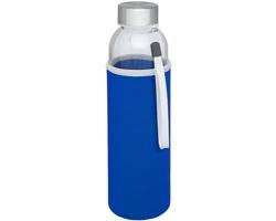Skleněná lahev ROSHOLT s neoprenovým pouzdrem, 500 ml - modrá