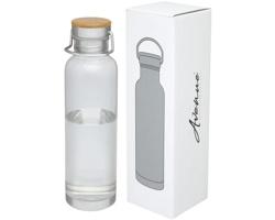 Plastová sportovní lahev MAXWELL, 800 ml - transparentní čirá