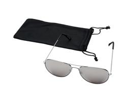 Kovové klasické sluneční brýle RAPS se zrcadlovými sklíčky - stříbrná