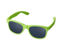 Plastové dětské sluneční brýle CLEG - jemně zelená